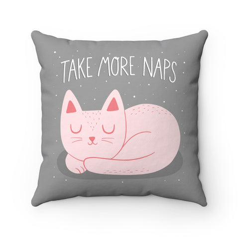 More Naps Throw Pillow Covers