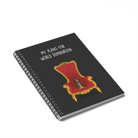 World Domination Cat Notebook