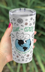 Save the Earth Reusable 20oz Tumbler