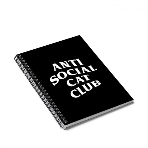 Antisocial Cat Club Notebook