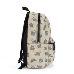 Milton the Cat Pattern Backpack