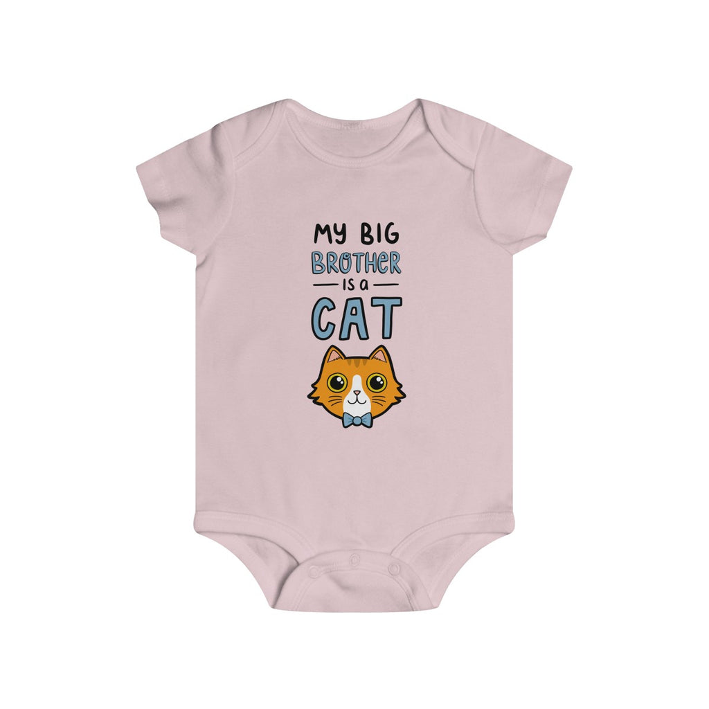 Big Brother Cat Baby Onesie