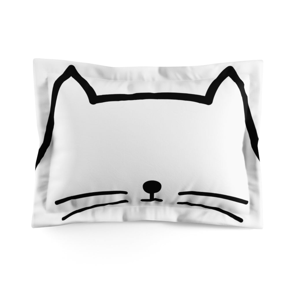 Milton the Cat Pillow Sham