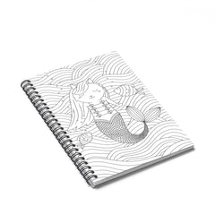 Color My Cover Mermaid Notebook