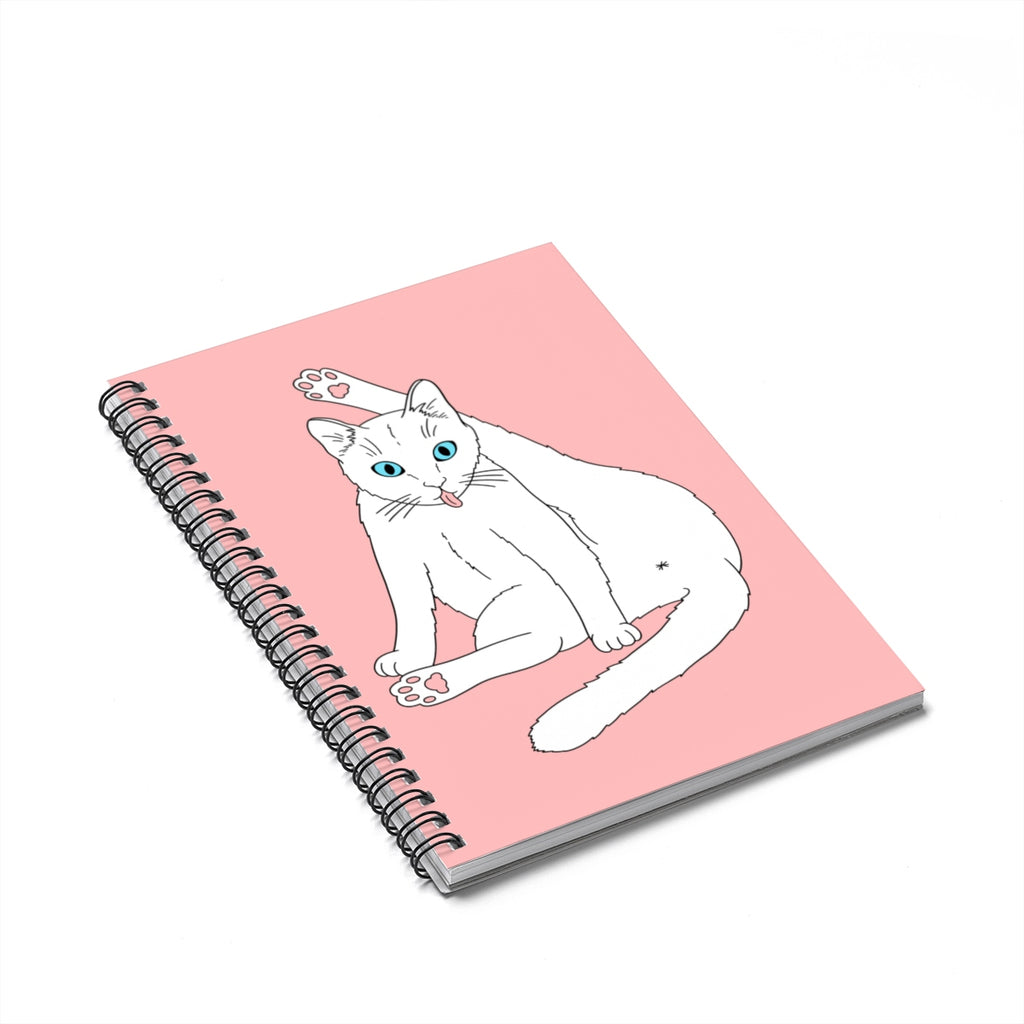 Privacy Please Cat Notebook