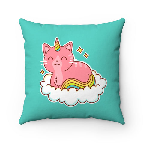 Caticorn Toss Pillow