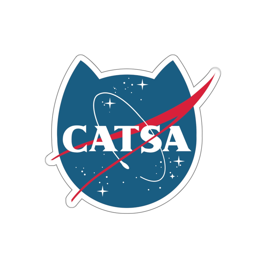 CATSA Space Sticker