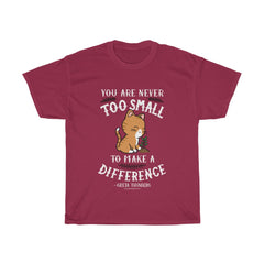 Never Too Small Greta Thunberg T-Shirt