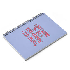 Stay-At-Home Cat Mom Notebook