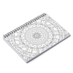 Color My Cover Mandala Notebook