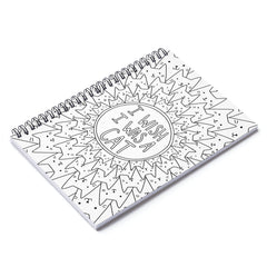 Color My Cover Cat Notebook
