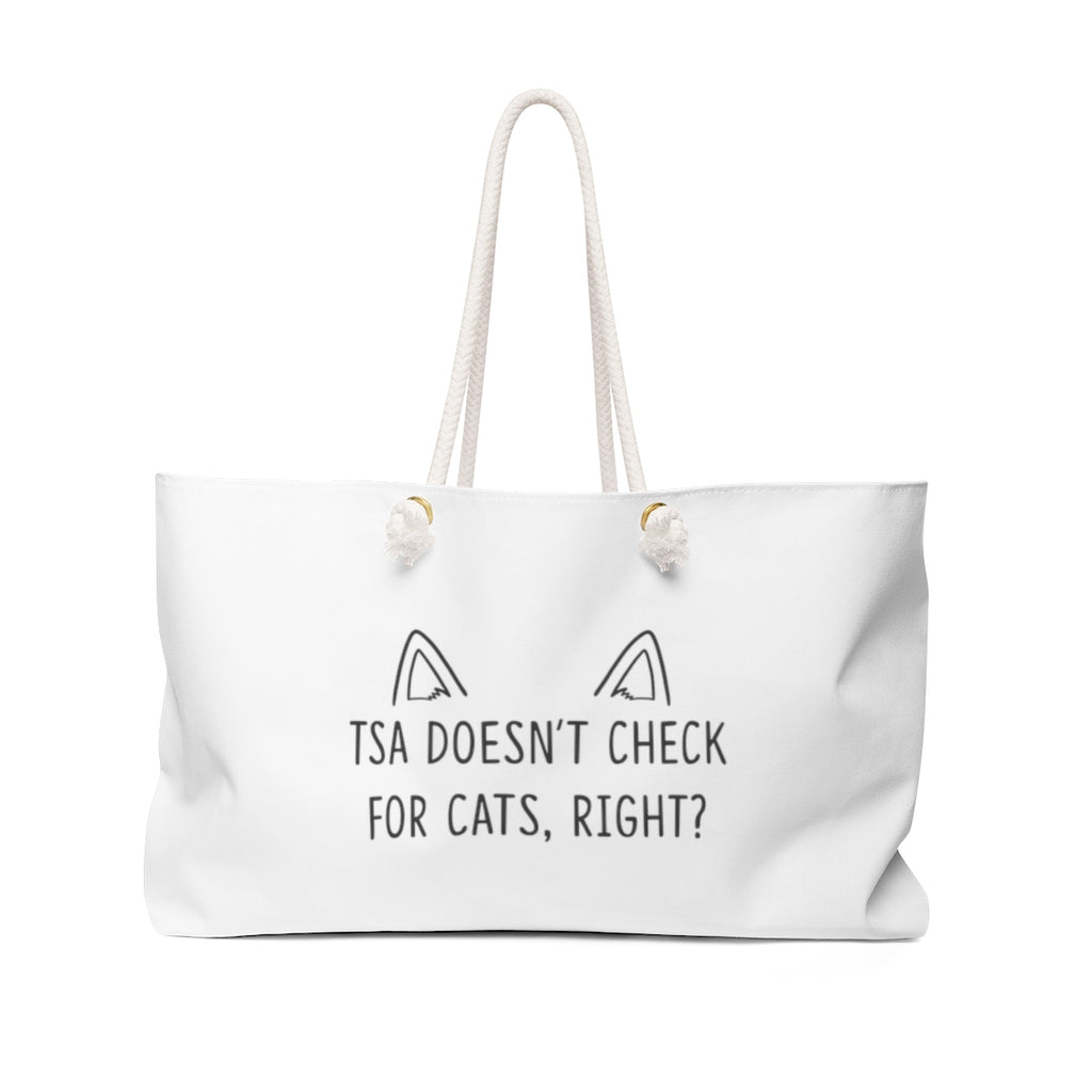 Security Cat Weekender Tote Bag