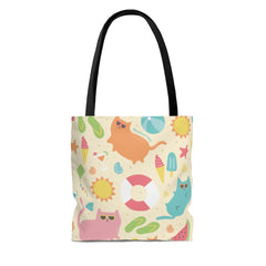 Beach Cats Tote Bag