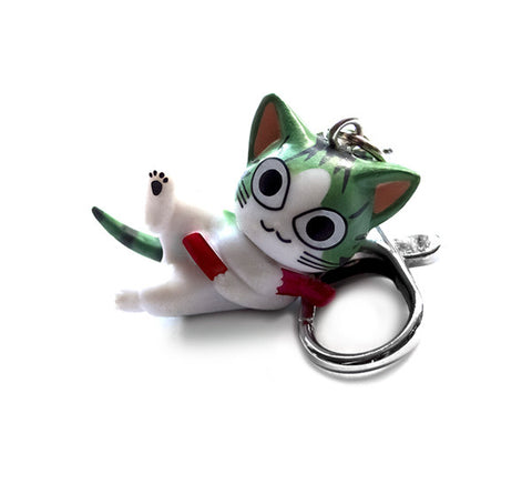 Asobi Kitty Cat Keychain