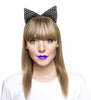 Beaded Cat Ears Headband