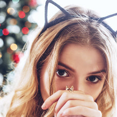 Bengal Cat Ring and Headband by Meowingtons