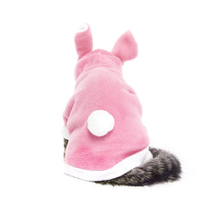 Pink Bunny Rabbit Cat Costume