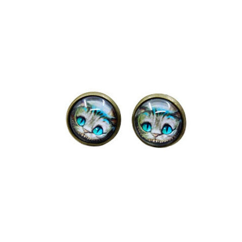 Cheshire Cat Earrings