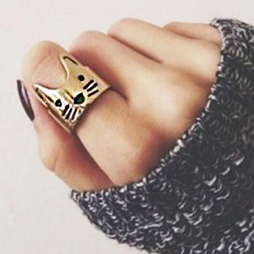 Crown Cat Ring by Meowingtons