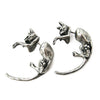 Dangle Cat Earrings