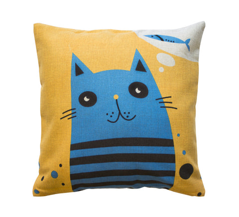 Fishy Dreams Toss Pillow