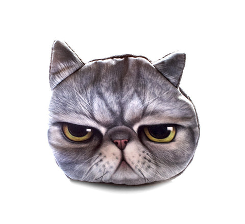 Grumpy Cat Coin Purse
