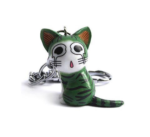 Kanashi Kitty Cat Keychain