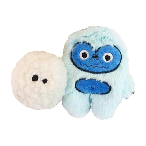 Yeti and Snowball Catnip Toy