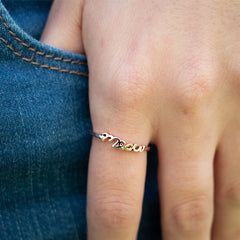 Gold Meow Ring - Cat Themed by Meowingtons