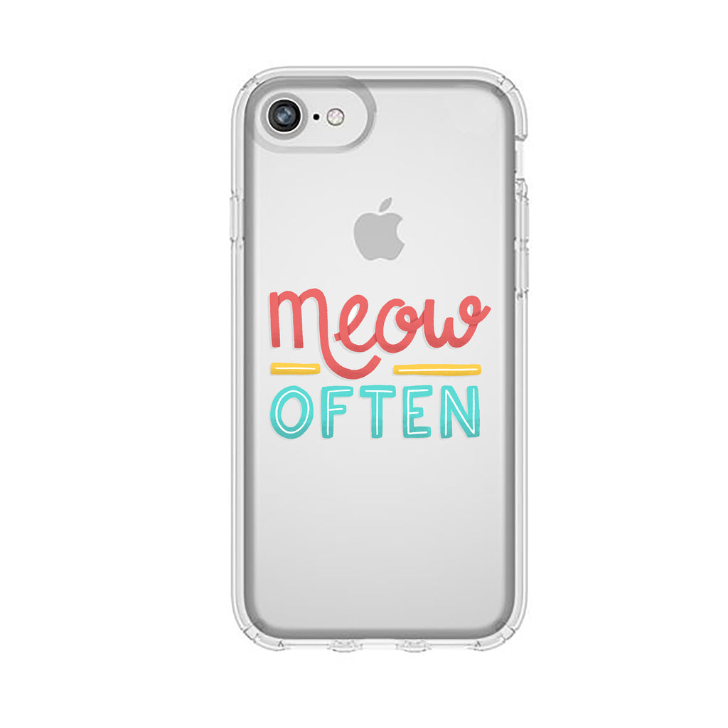 Meow Often Cat Phone Case