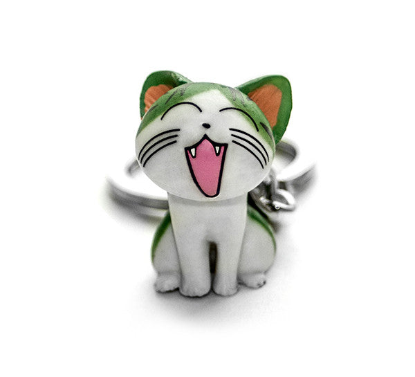 Meri Kitty Cat Keychain