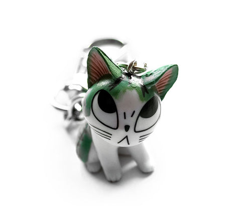 Okotta Kitty Cat Keychain