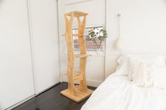 unique cat tree is inspired by a minimalist aesthetic