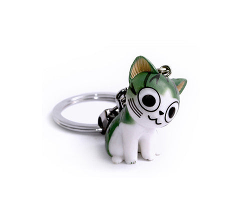 Rakki Kitty Cat Keychain