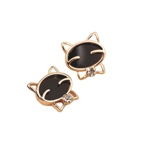Fancy Cat Earrings