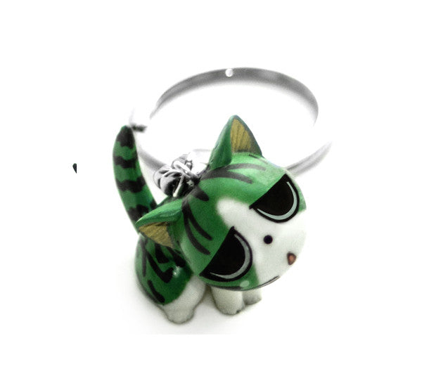 Shinpai Kitty Cat Keychain