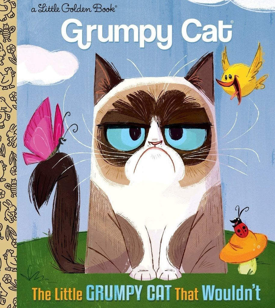 The Little Grumpy Cat That Wouldn't Book