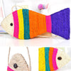 Rainbow Fish Cat Hanging Scratcher