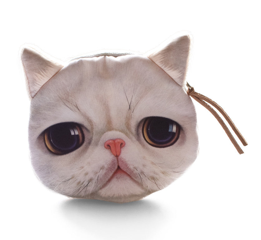 Buddha Cat Coin Purse