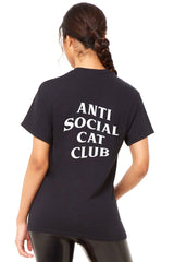 Antisocial Cat Club T-Shirt