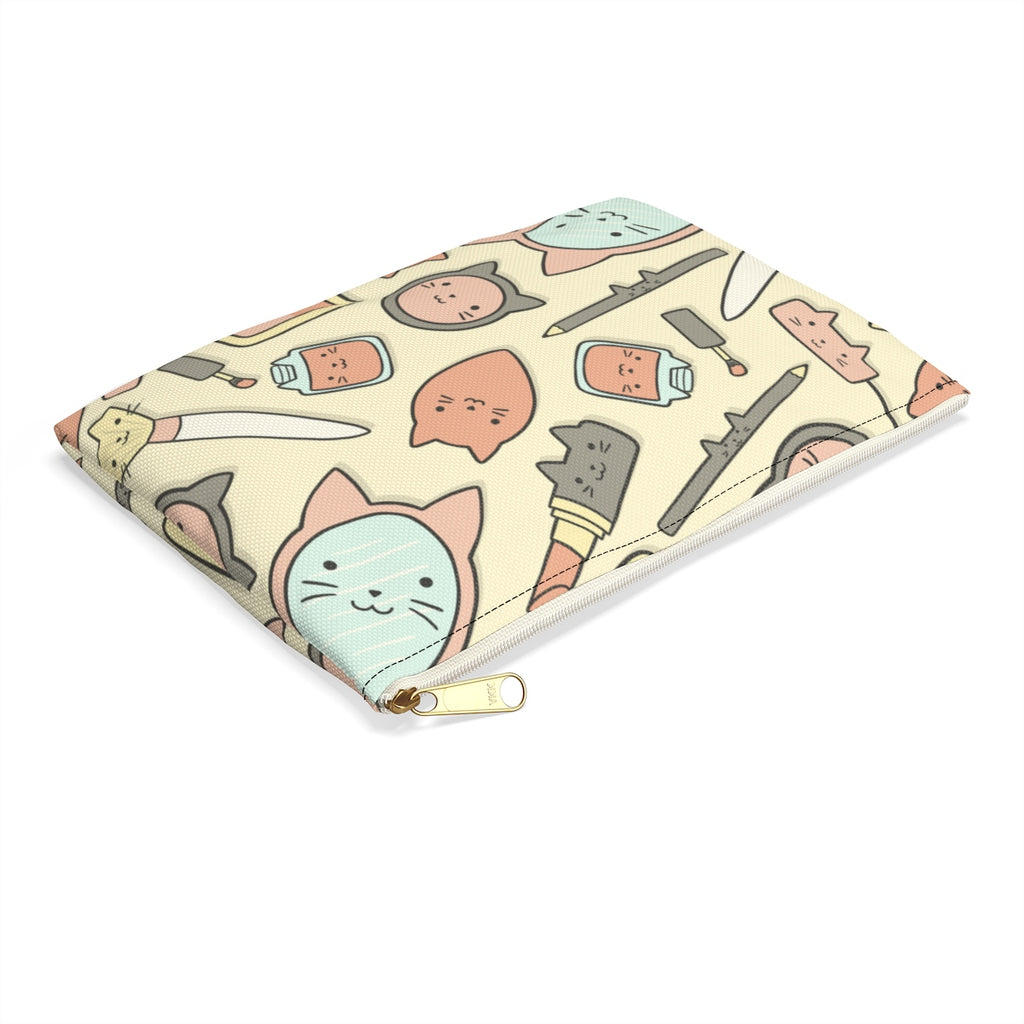 Pretty Kitty Cat Makeup Bag