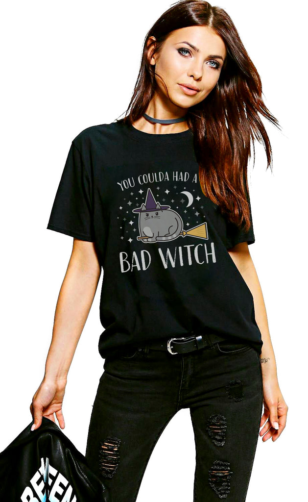 Bad Witch Cat T-Shirt