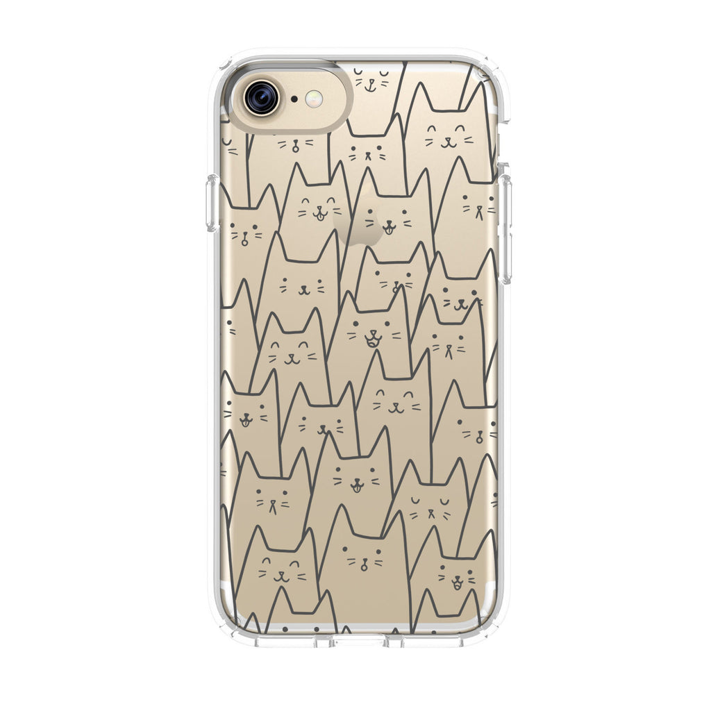 Crowded Cats Phone Case