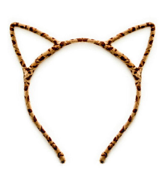 Floral Lace Cat Ear Headband. $ (1) Quick View Black Sequin Cat Ear Headband. $ View: of 2. Next. Top off a good outfit by pairing it with fun headbands that will show off your style and personality. Unleash your inner kitten or bunny with animal headbands .
