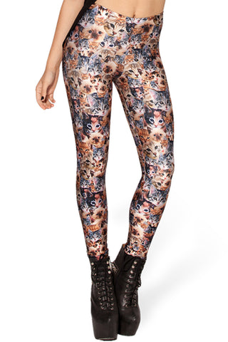 Clowder Cat Leggings