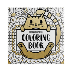 Meowingtons Cat Coloring Book