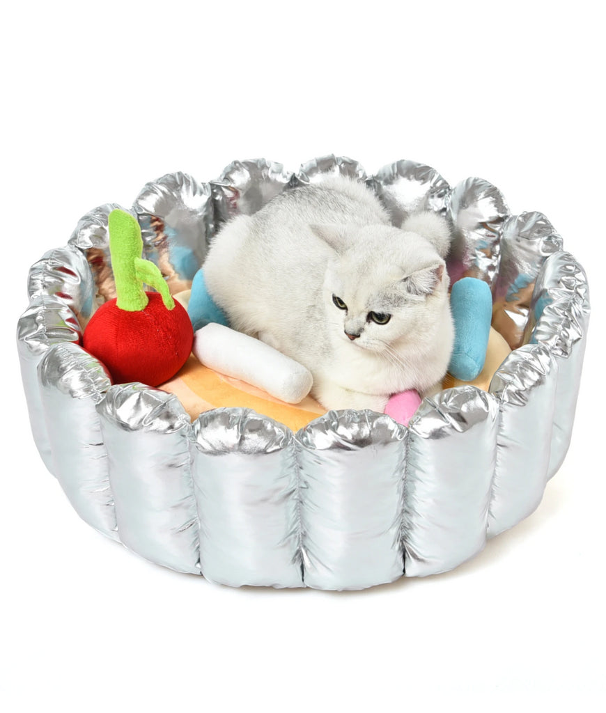 Sprinkle Cupcake Cat Bed