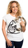 Deathly Hallows Cat Tee