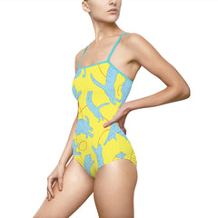 Playful Cats One-piece Swimsuit