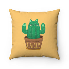 Catcus Toss Pillow